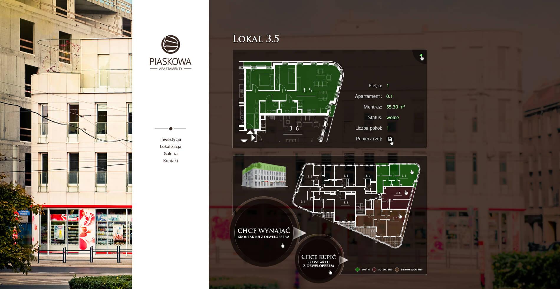 Apartamenty Piaskowa